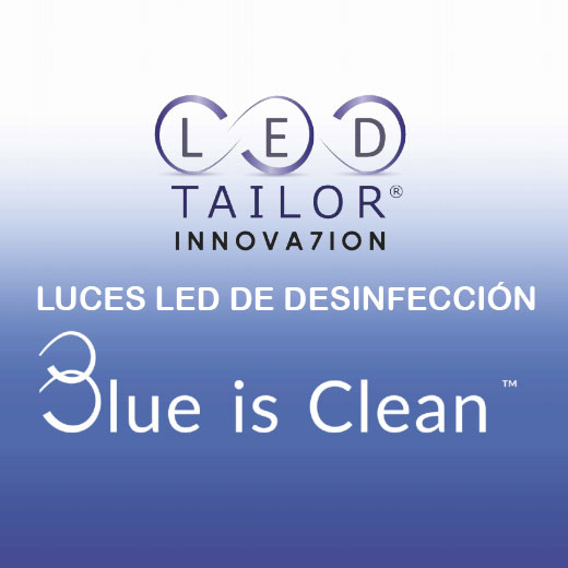 Desinfección con luces LED